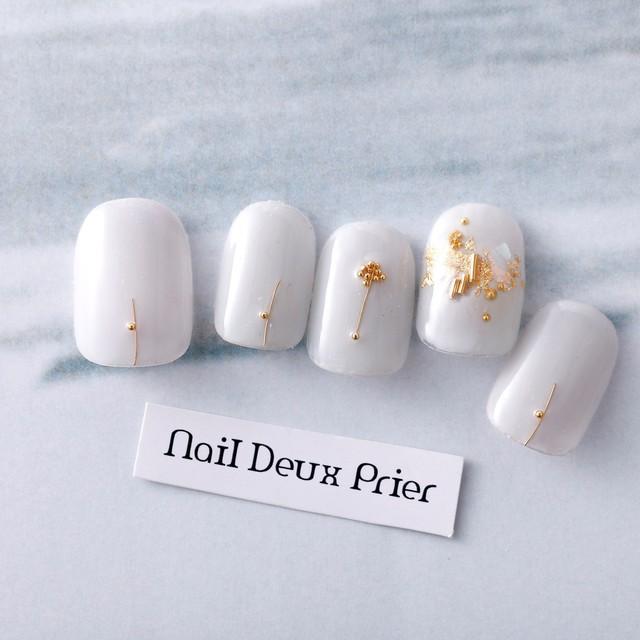 【初回限定・オフ込み】約20種類から選べる☆Spring限定デザイン | nail Deux Prier (ネイルドゥプリエ池袋店) | 当日予約・直前予約 ポップコーン