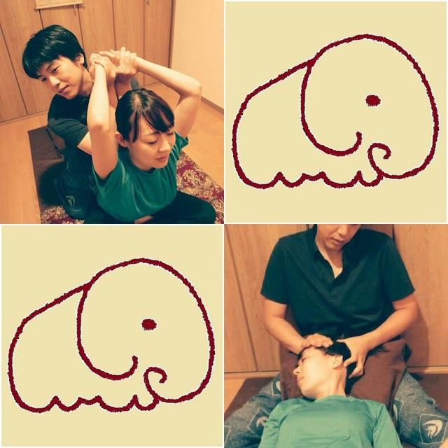 タイ古式60分+ヘッド30分 thai massage 60 minutes and head massage 30 minutes 7300円