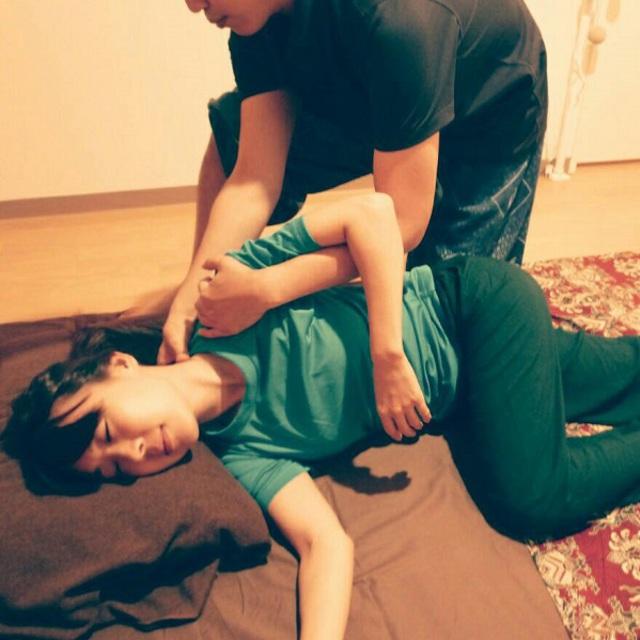 タイ古式マッサージ90分 thai massage 90 minutes 6800円