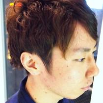 メンズパーマ+カラー+カット | Papillon Rose(パピヨン ロゼ) | 当日予約・直前予約 ポップコーン