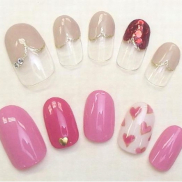 [Anyone any number of times] Flat-rate design 5000 yen course ♪ Reasonably cute ☆ | nail salon LUCE (Nail Salon Luce) | Last-minute booking service Popcorn
