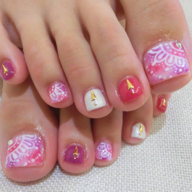 <OFF included> Unlimited foot attachment + exfoliating & care ★ | ■ Shibuya Station 2 minutes ■ Nail salon Roseo (Roseo) | Last-minute booking service Popcorn