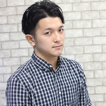 [Male and new limited] cut + color or perm | Xanadu (Xanadu) Ueno | Last-minute booking service Popcorn
