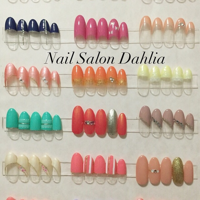 [New] off there hand gel 5980 yen | Nail Salon Dahlia (Dahlia) | Last-minute booking service Popcorn