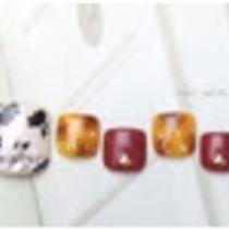 [Prime / off Free] foot ☆ choose ♪ Original Art Course C ♡ color design sample number !! | Nail salon Keys (Keys) | Last-minute booking service Popcorn