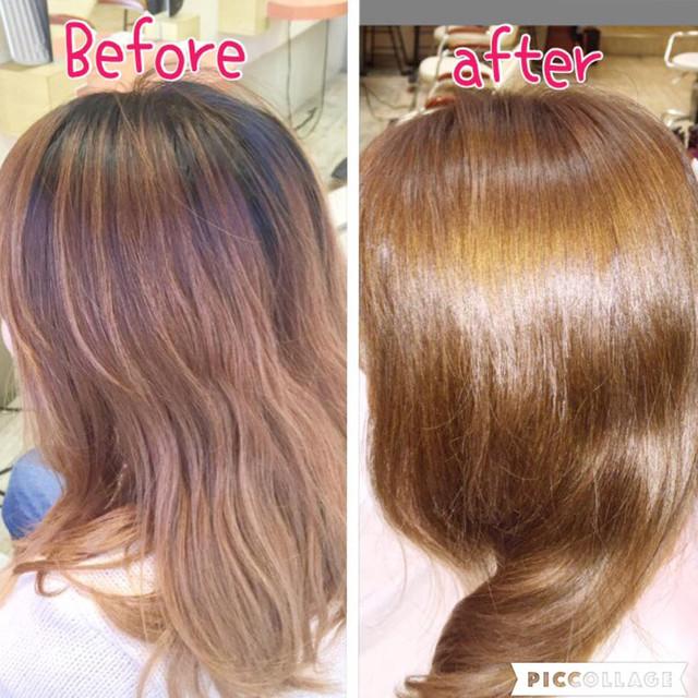 傷んだ髪をケア!ハイパートリートメント30分コース♪ | Hair Studio Actage | 当日予約・直前予約 ポップコーン