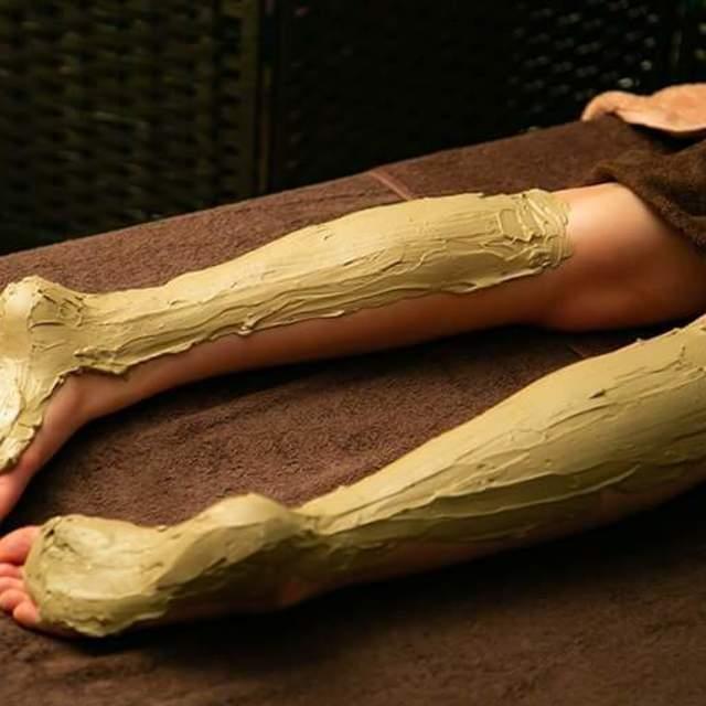 クレイセラピー 足裏、足首、ふくらはぎ(クレイ足湯付き)