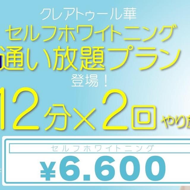 《1ヶ月通い放題コース》 ¥6,600