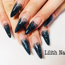 【Scalp with Off Off】 One Color or Lame Gradation | Lilith Nail | Last-minute booking service Popcorn