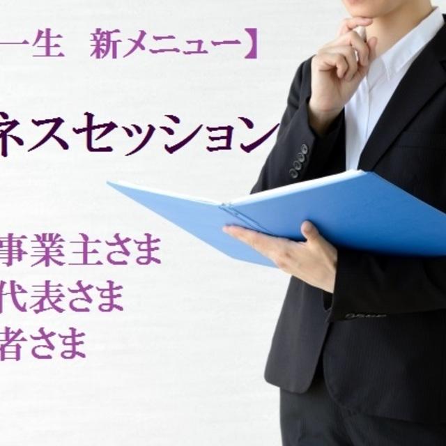 ◆ビジネスセッション60分(麻賀一生先生)