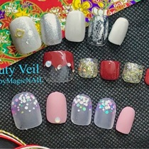 Popcorn Limited Course | Beauty Veil by HappyMagicNAIL | Last-minute booking service Popcorn
