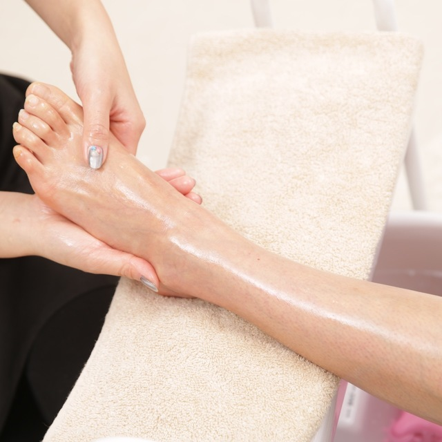 Relaxation foot care | ChaleuR NailSalon | Last-minute booking service Popcorn