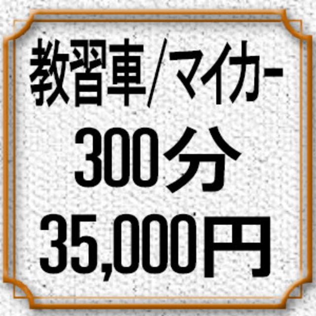 300分コース(教習車/マイカー)