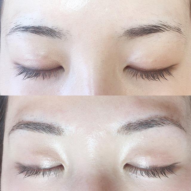 Eyebrow styling + eyebrow extension ハ ー フ half》   PUTTO omotesando (put Omotesando)   Last-minute booking service Popcorn