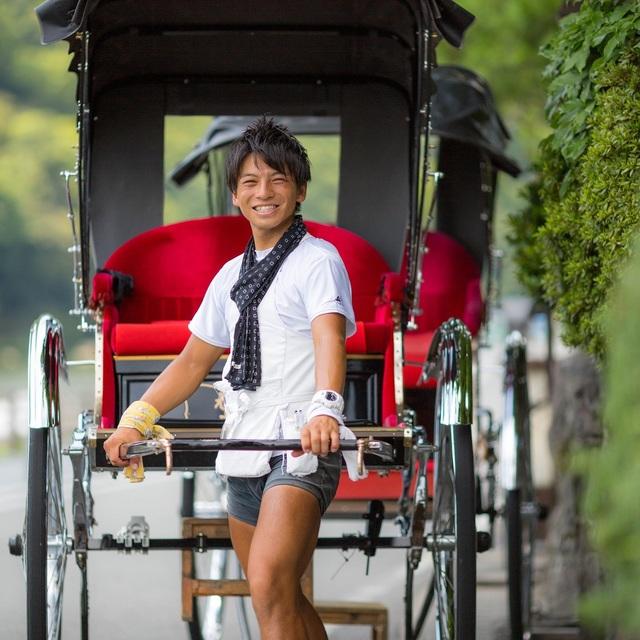 1名様 ◆人力車周遊30分コース&お花の足湯マッサージコラボコース◆