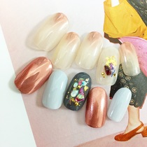 【Limited Time】 Popular Resurrection! ︎ Mirror nail MIX! A | Kain (Cain) [nail] Meguro Station walk 30 seconds | Last-minute booking service Popcorn