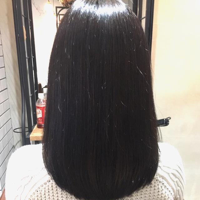 カット+リタッチカラー+髪質改善ストレート 炭酸付【¥12,650OFF】-自由が丘- | AUQWA(アウクワ) | 当日予約・直前予約 ポップコーン