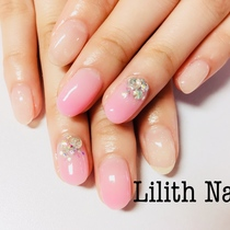 【Off-Gel Jel】 Art 4 pieces | Lilith Nail | Last-minute booking service Popcorn