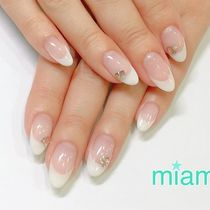 Off inclusive ☆ Gel French OR Carragra Tax included 5500 yen | nail salon miam 【miam】 | Last-minute booking service Popcorn