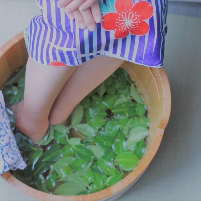 ●4名様 -禅- お茶の香りの足湯 50分コース