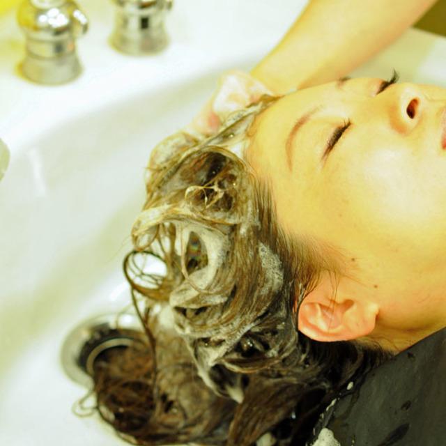 [気分転換に♪]スッキリ頭皮クレンジングスパ+カット&ブロー込♡ツヤサラ収まりの良い髪に♡前処理トリートメントスチーム付+髪質改善キューティクルエステ&ブロー込 | Cut of shu(カットオブシュウ) | 当日予約・直前予約 ポップコーン