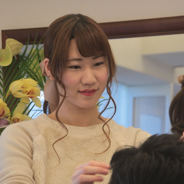 Big popularity ★ Watanabe Kaori top volume and texture adjustment + nominal cut in nominated perm and cut ¥ 6,500 | ATHLETES (Asuritsu) | Last-minute booking service Popcorn