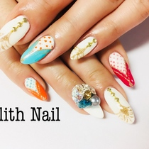 【Off-Gel Gel】 All you can Art | Lilith Nail | Last-minute booking service Popcorn
