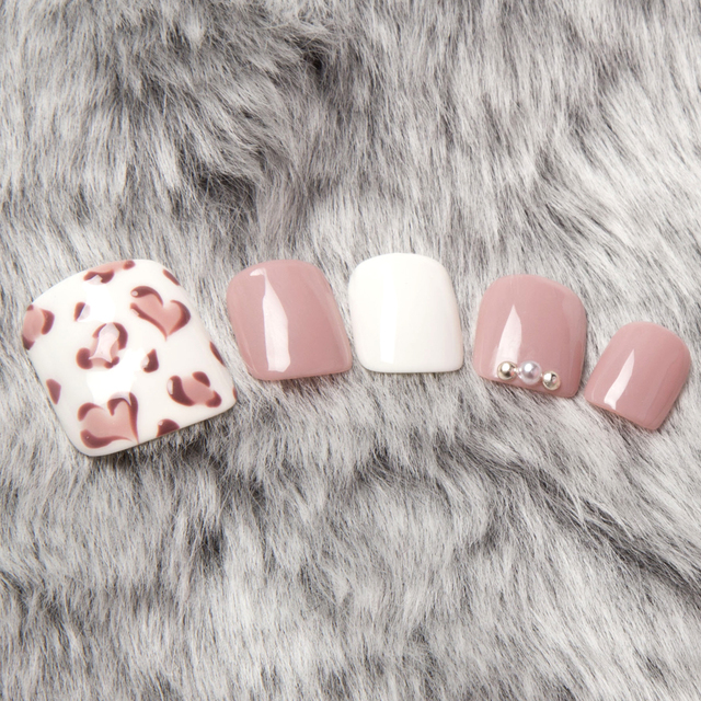 【New like Off Free / Care In】 NEW ♡ Leopard Pattern Foot Nail ♡ | abbie (Abbey) Grand Duo Kamata | Last-minute booking service Popcorn