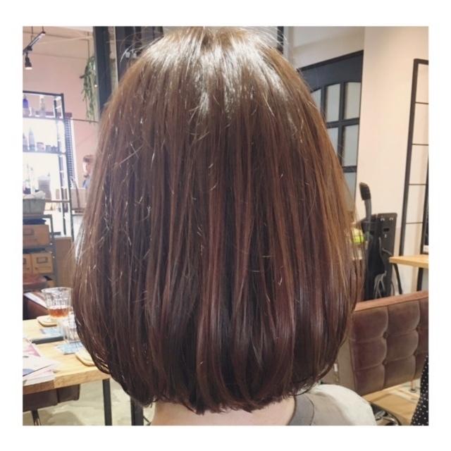 前髪カット+カラー(炭酸泉スパ付)【¥4,320 OFF】-自由が丘- | AUQWA(アウクワ) | 当日予約・直前予約 ポップコーン