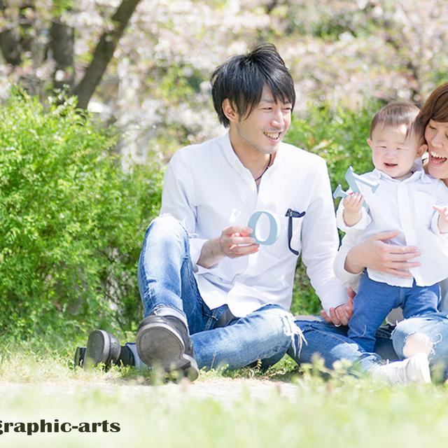 親子で自然な◆出張撮影◆
