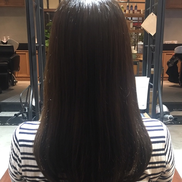 カット+カラー+髪質改善ストレート(炭酸泉付)【¥12,530 OFF】-自由が丘- | AUQWA(アウクワ) | 当日予約・直前予約 ポップコーン