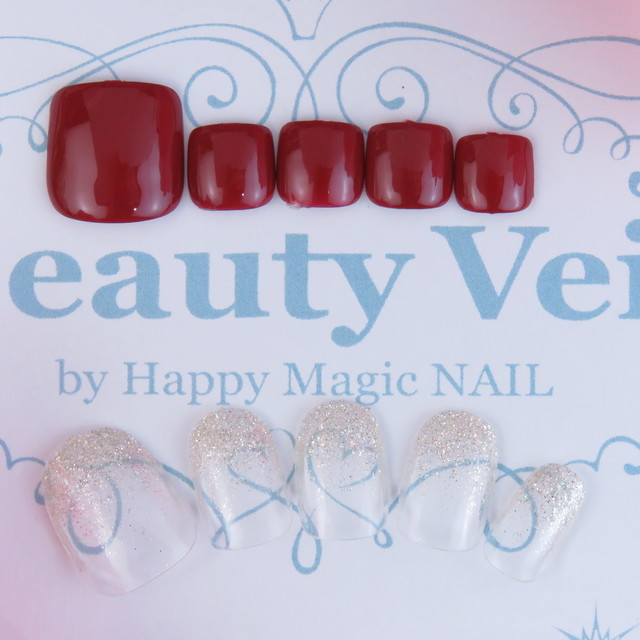 Popcorn one color (off separately) | Beauty Veil by HappyMagicNAIL | Last-minute booking service Popcorn