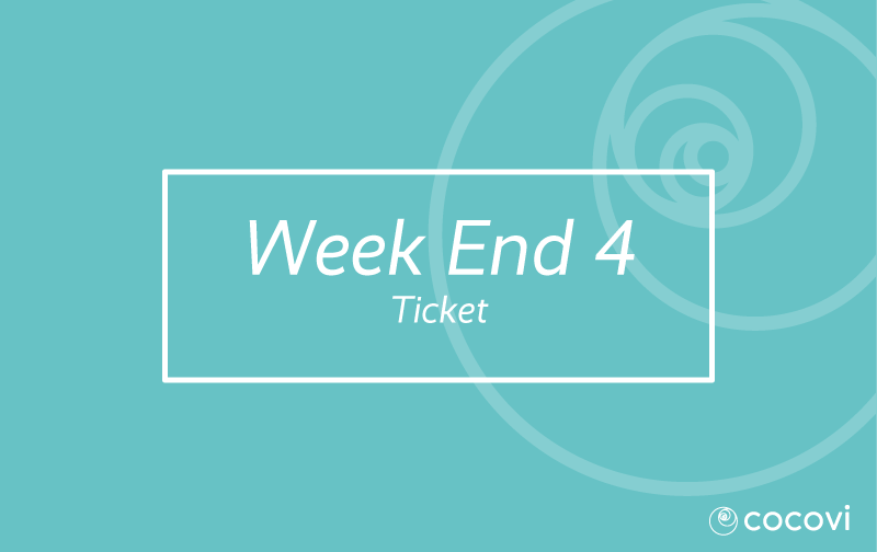 Weekend 4 ticket