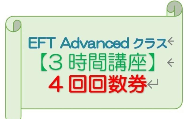 【3時間券】4回券 EFT Advanced用