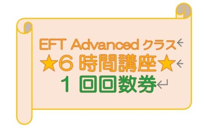 ★6時間券 1回券 EFT Advanced用