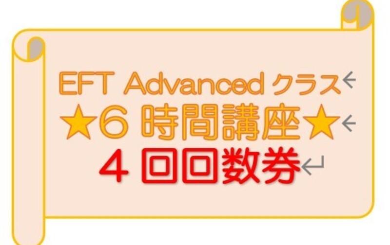 ★6時間券 4回券 EFT Advanced用