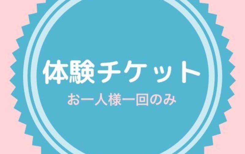 🔰体験チケット 1,100円