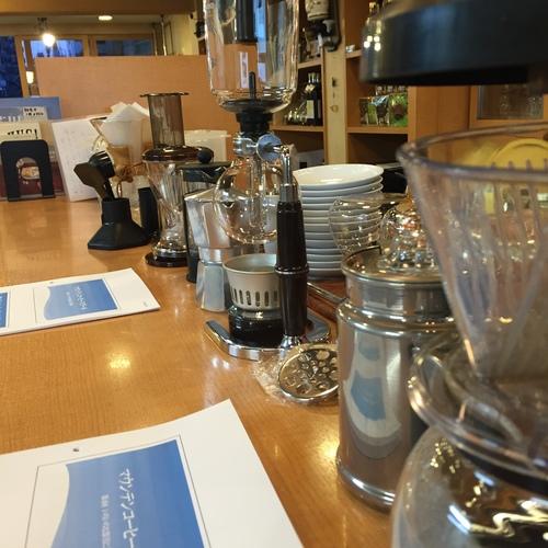 コーヒー飲み比べ(器具の違い)(2名以上は別途ご連絡を)