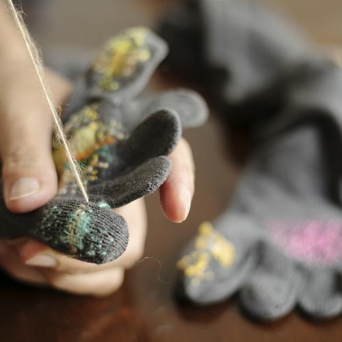【紙博 & 布博 in 京都】HIKARU NOGUCHI「傷んだ衣類の修復法『ダーニング』」