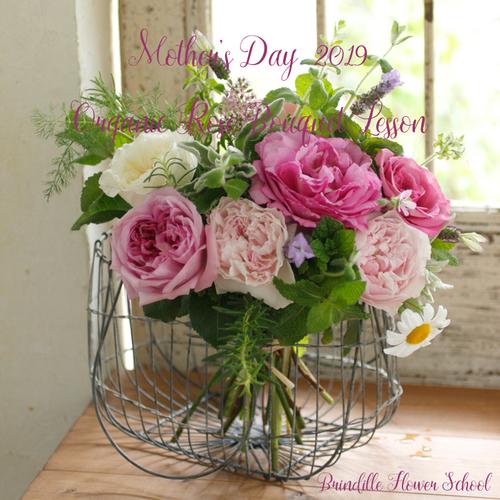 母の日に贈るオーガニックフラワー *Mother's Day レッスン2019*