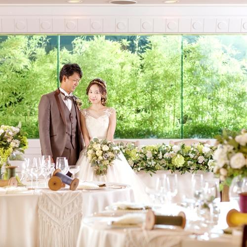【初めての式場見学でも安心】限定特典付!結婚式まるわかり相談会◇無料試食付◇