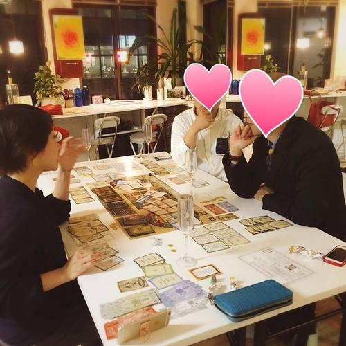 洗練された大人のゲーム会(7つの習慣ボードゲーム)