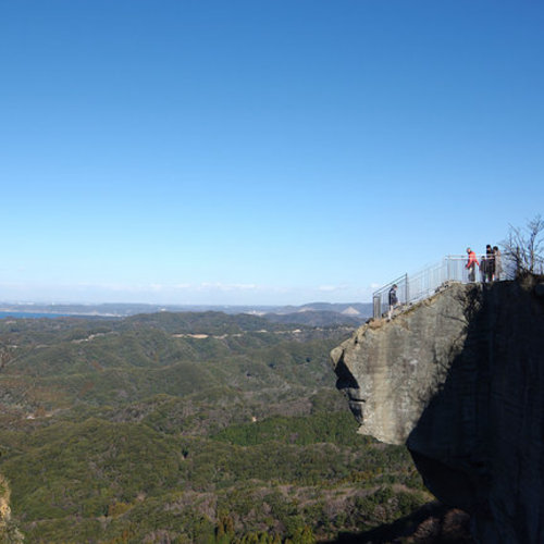 Mt. Nokogiri Hiking & Onsen One-day Bus trip in Chiba