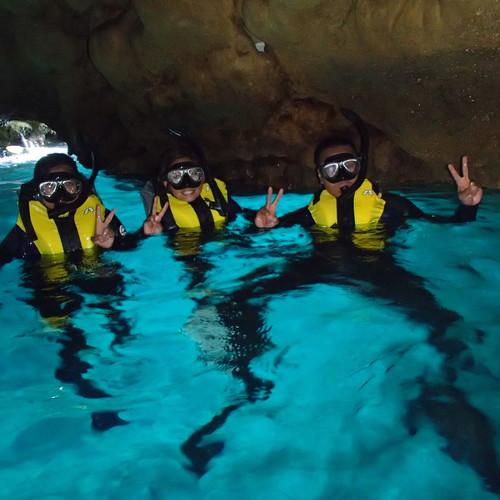 青の洞窟シュノーケル・青の洞窟シュノーケルパック