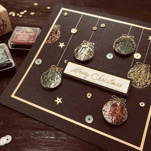 【スタンプテクニック】Sparkling Ornament  11月15日(木)