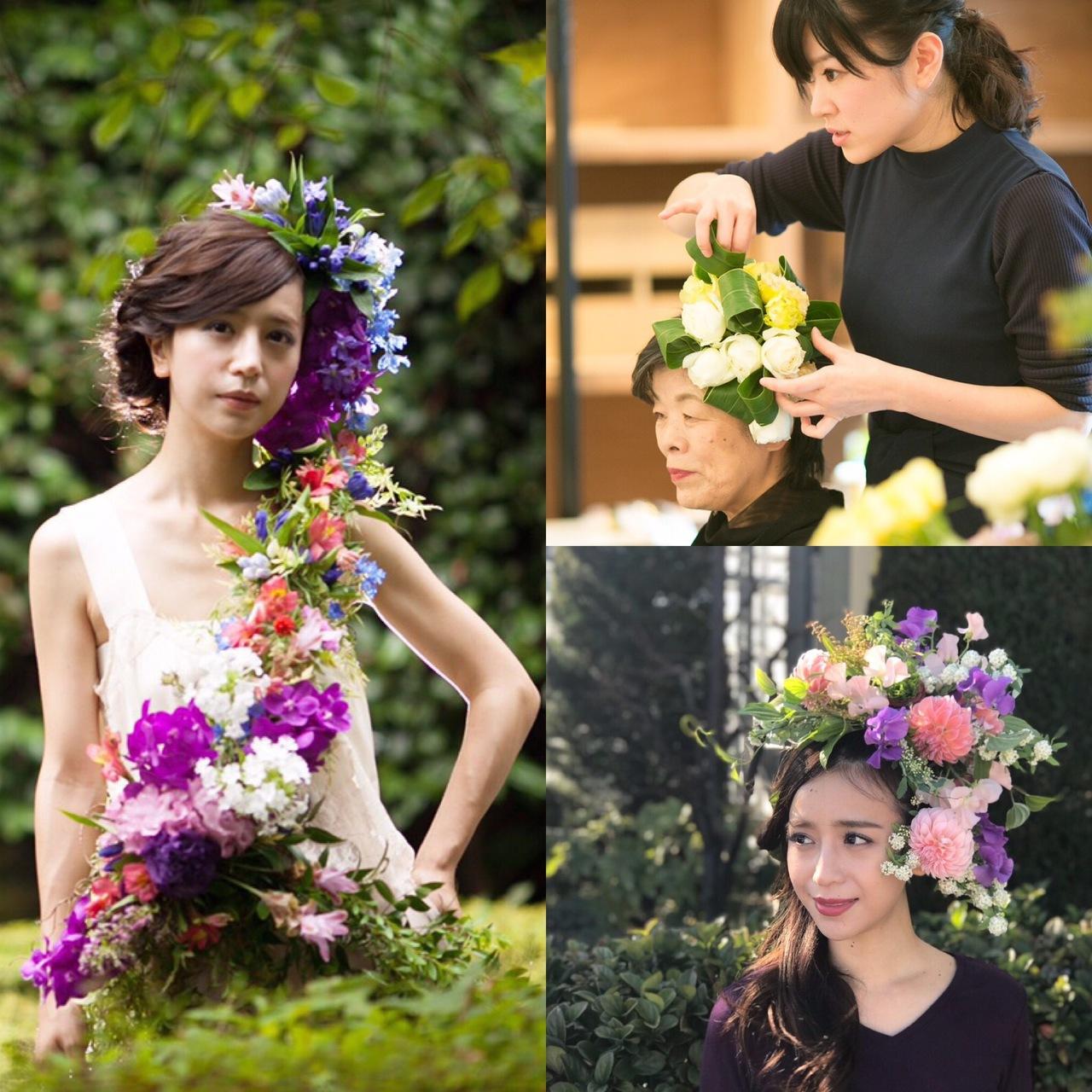 【4月14日開催】ヘッド&ボディも選べる4月の花衣撮影体験会