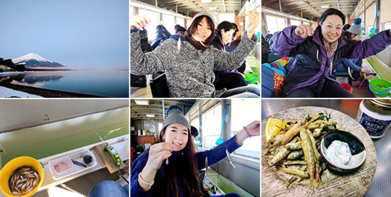 【女性限定】ワカサギ釣りドーム船釣行会 in 山中湖