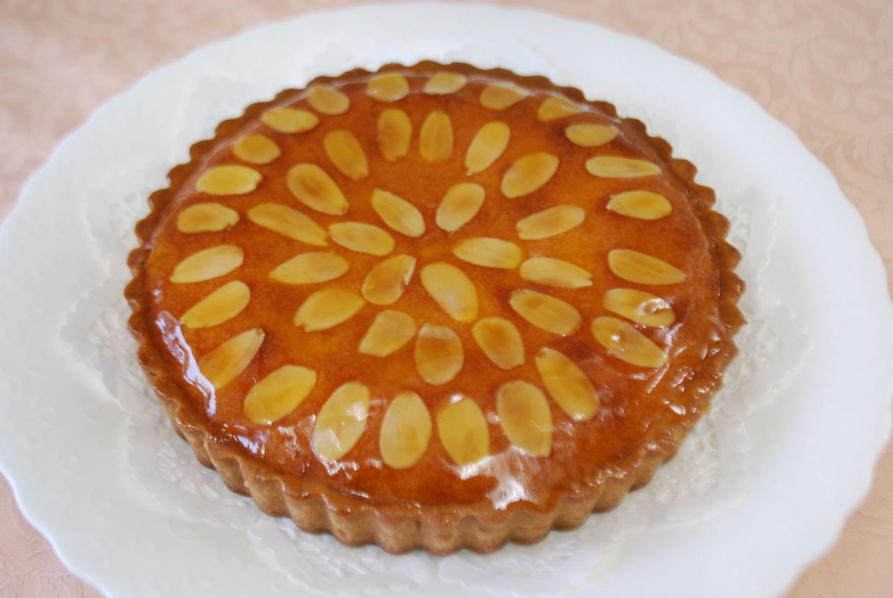 フランス菓子の定番 アーモンドタルト