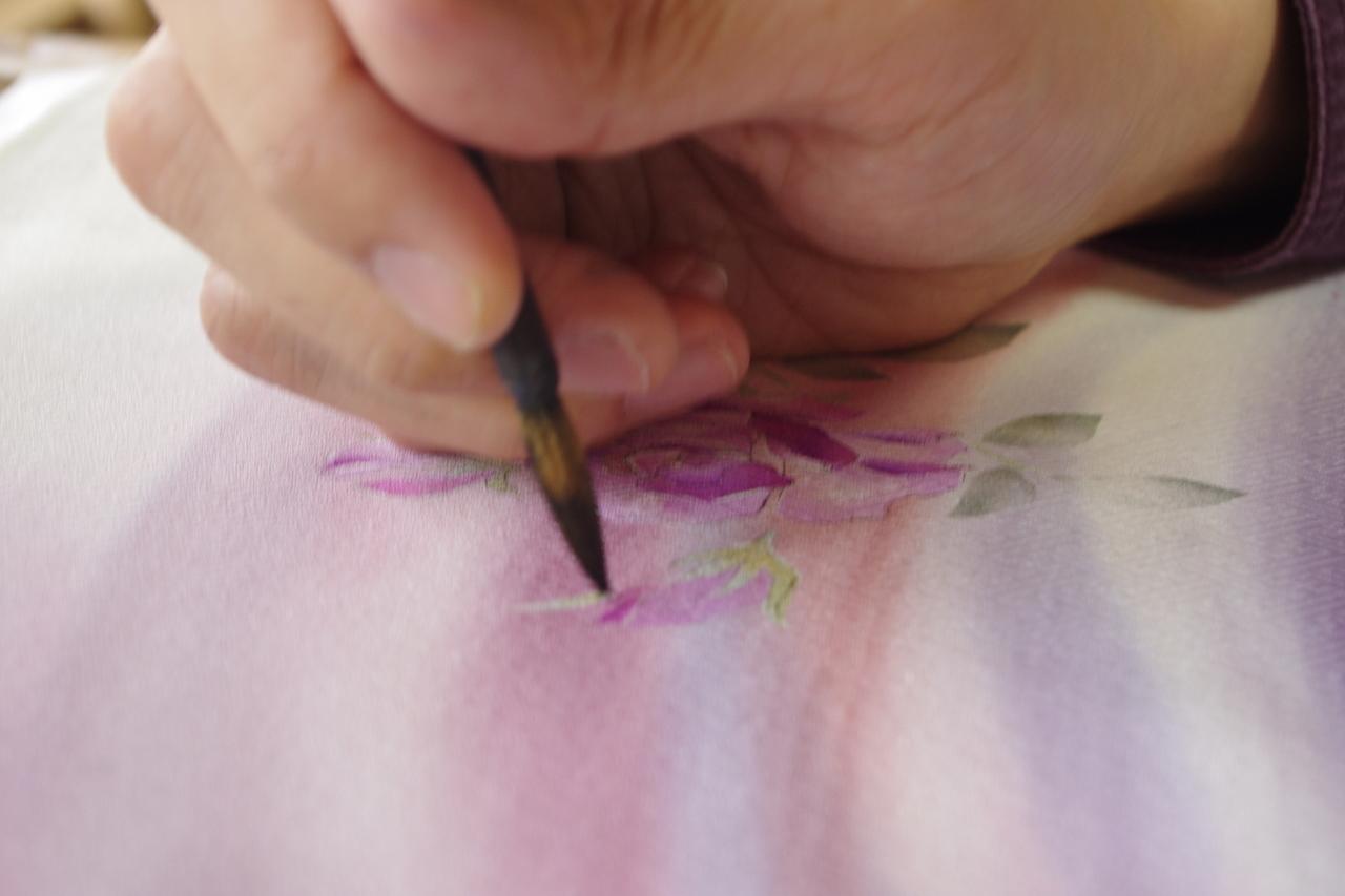 工房見学・工房体験・着物についてご相談・着付け教室・風彩染の着物をご検討の方・着物レンタル