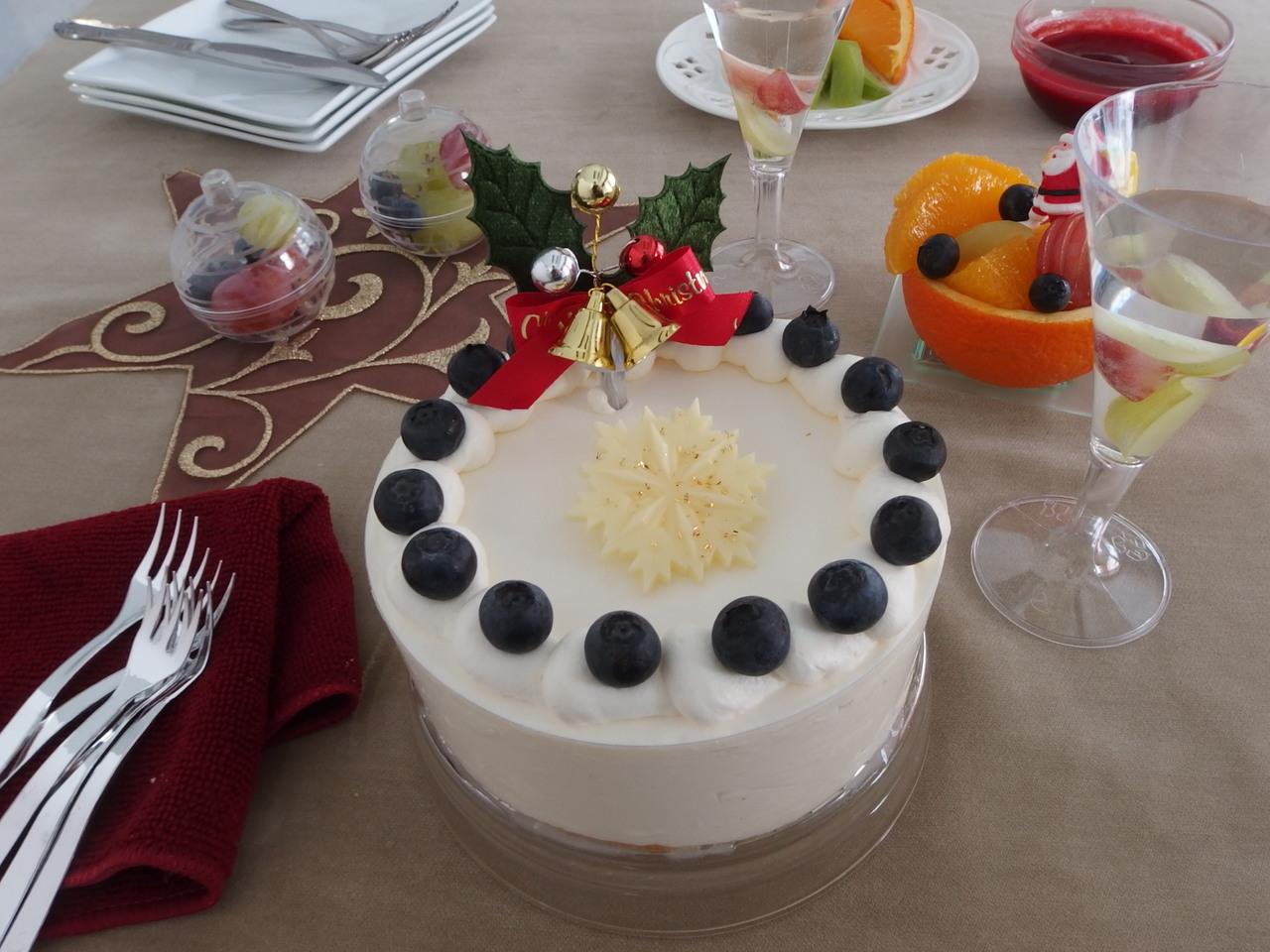 クリスマスにケーキを作ろう!フロマージュ・ノエル